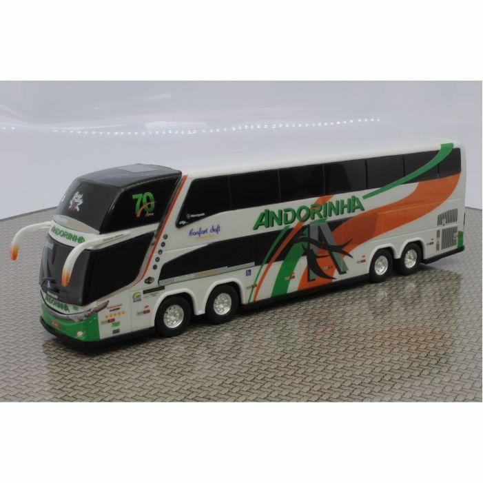 Ônibus Em Miniatura De Brinquedo Andorinha 1800 Dd G7