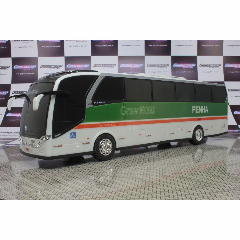 Ônibus Em Miniatura De Brinquedo Viação Penha