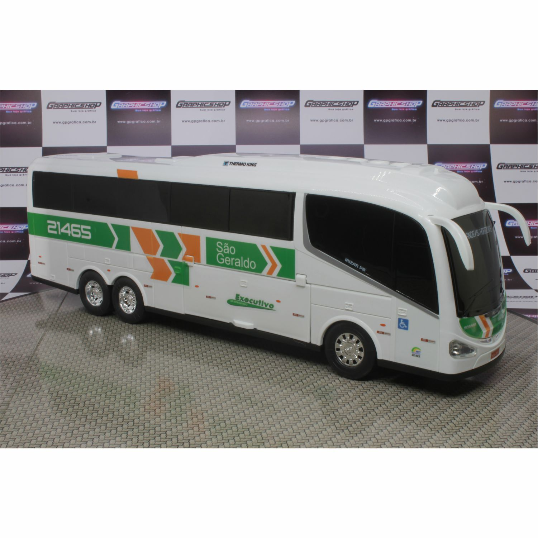 Ônibus Em Miniatura De Brinquedo Viação São Geraldo