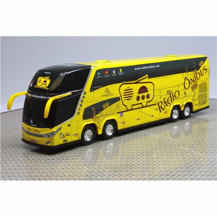 Ônibus Miniatura Rádio Ônibus DD Novo