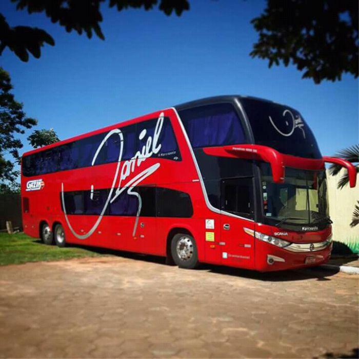 Ônibus Em Miniatura Daniel Personalizado