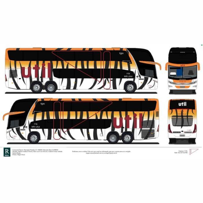 Ônibus em Miniatura DD Personalizado