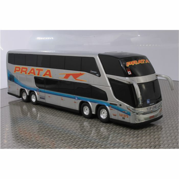Ônibus Miniatura Expresso de Prata DD