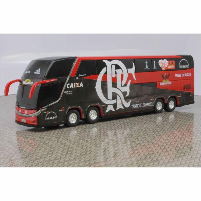 Ônibus Em Miniatura De Brinquedo Flamengo