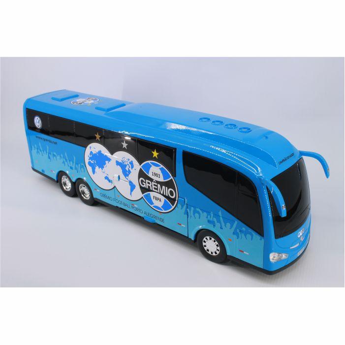 Ônibus Em Miniatura De Brinquedo Grêmio Fbpa