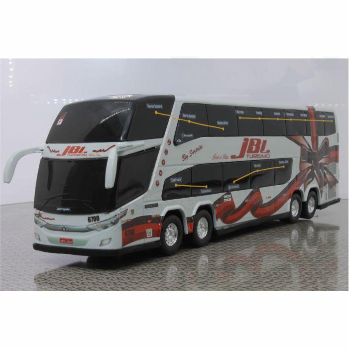 Ônibus Miniatura JBL Turismo DD