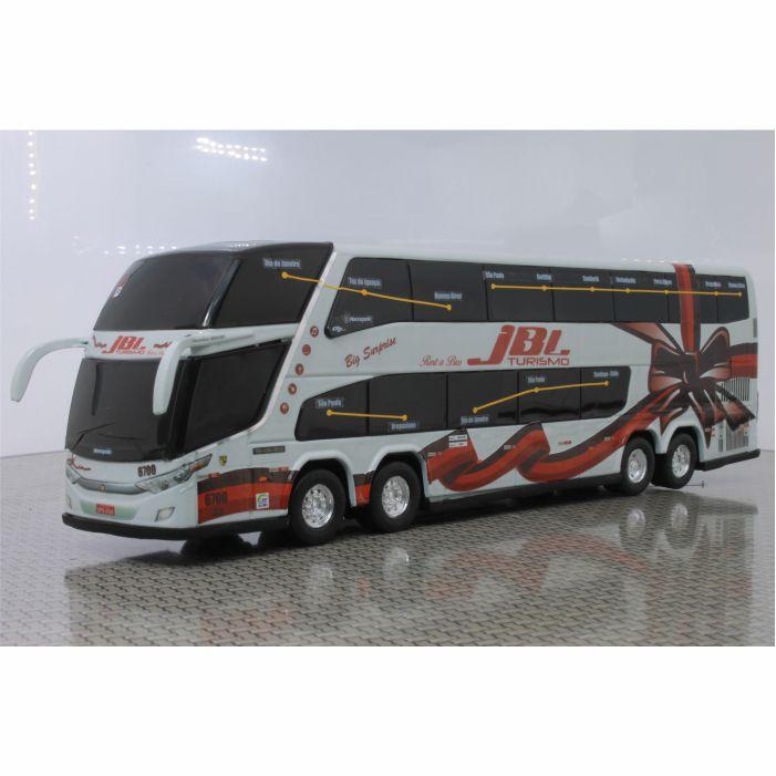 Ônibus Em Miniatura De Brinquedo JBL Turismo 1800 Dd G7