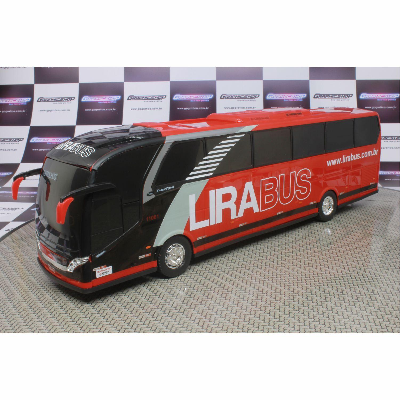 Ônibus Em Miniatura De Brinquedo Lira Bus