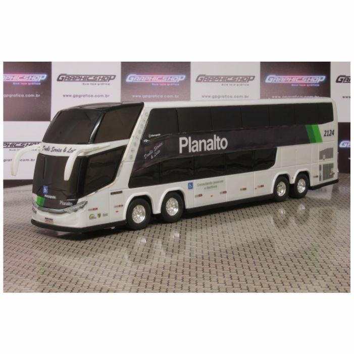 Ônibus Em Miniatura De Brinquedo Planalto 1800 Dd G7