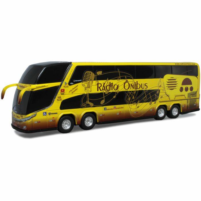 Ônibus Miniatura Rádio Ônibus DD