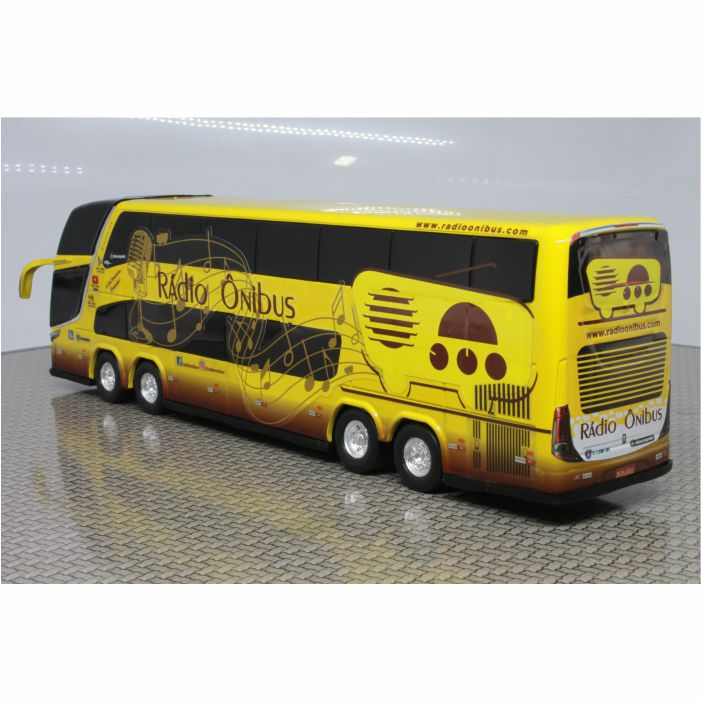 Ônibus Em Miniatura De Brinquedo Rádio Ônibus 1800 Dd G7