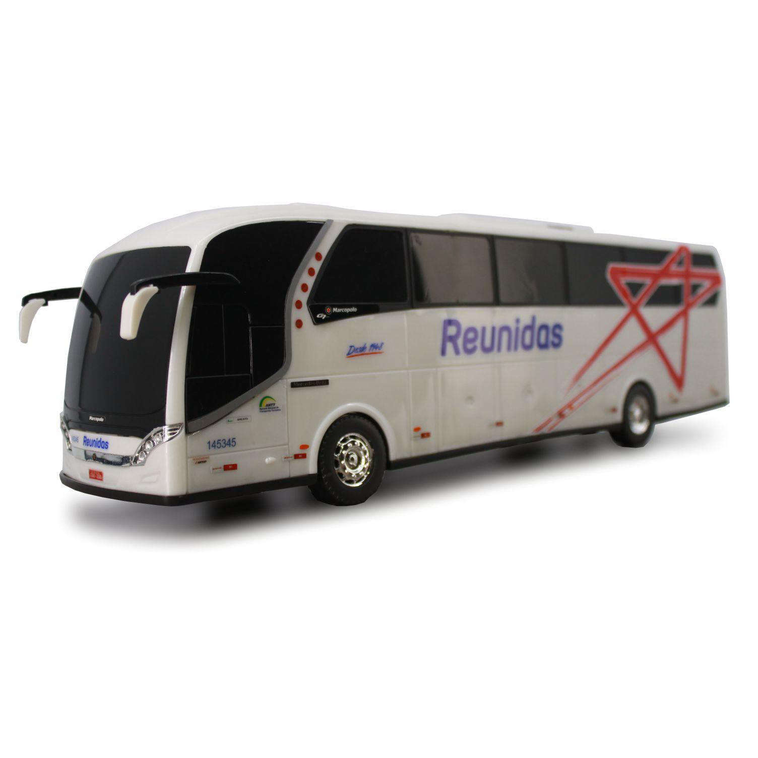 Ônibus Em Miniatura De Brinquedo Reunidas Paulista