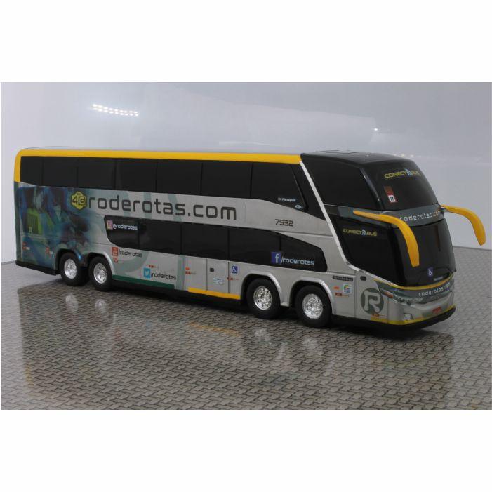 Ônibus Em Miniatura De Brinquedo Roderotas 1800 Dd G7