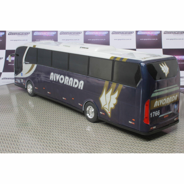 Ônibus Em Miniatura De Brinquedo Turismo Alvorada