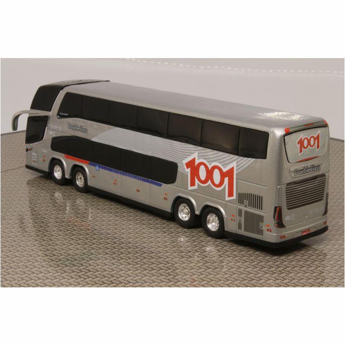 Ônibus Em Miniatura De Brinquedo Viação 1001 1800 Dd G7