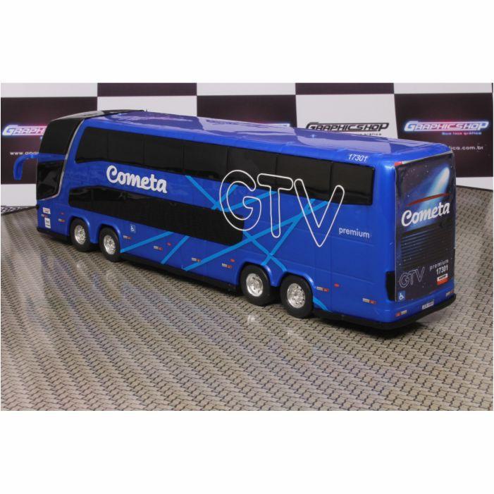 Ônibus Em Miniatura De Brinquedo Viação Cometa 1800 Dd G7