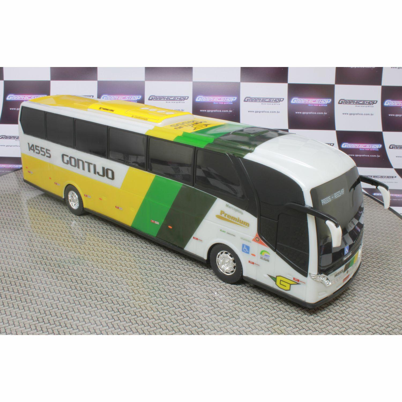 Ônibus Em Miniatura De Brinquedo Viação Gontijo