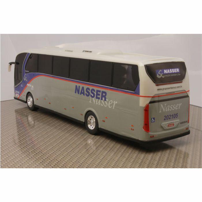Ônibus Em Miniatura De Brinquedo Viação Nasser
