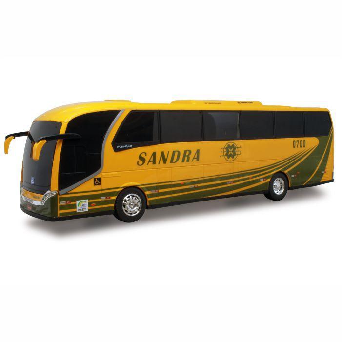Ônibus Em Miniatura De Brinquedo Viação Sandra