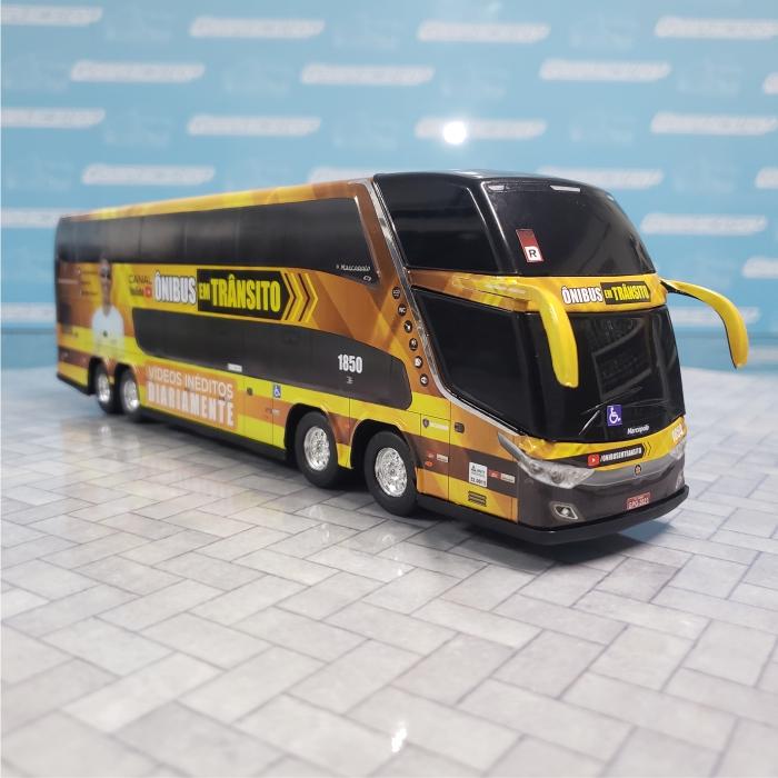 Ônibus Miniatura Canal Ônibus em Trânsito