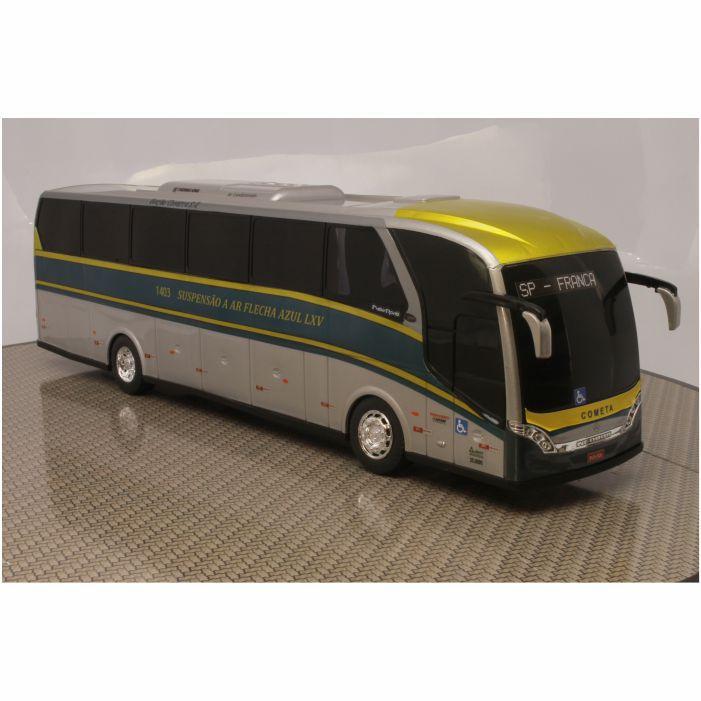 Ônibus Miniatura Viação Cometa Clássico Flecha Azul