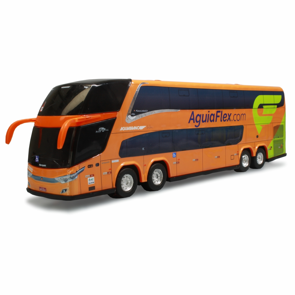 Ônibus Miniatura Águia Flex New G7 DD