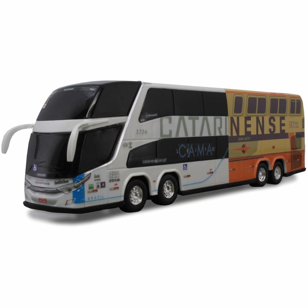 Ônibus Miniatura Auto Viação Catarinense DD 90 Anos
