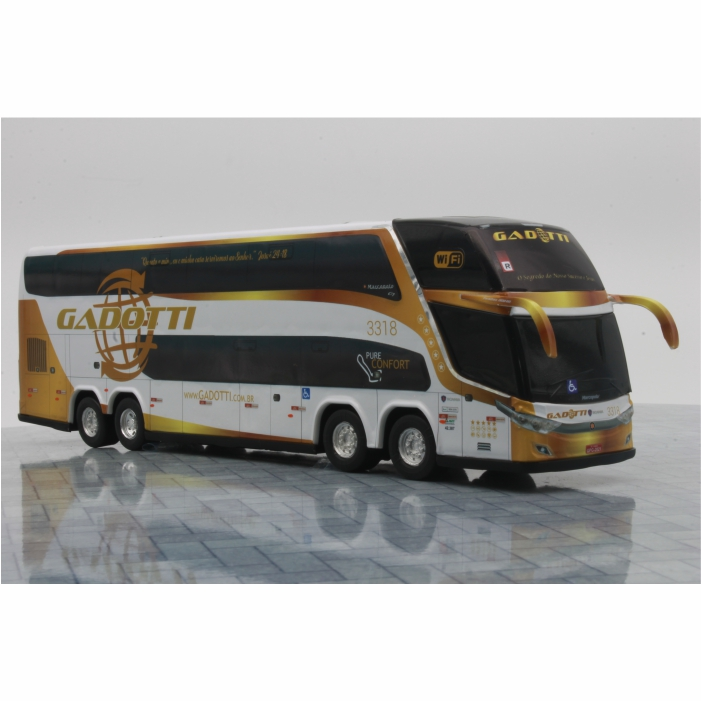 Ônibus Miniatura Auto Viação Gadotti DD