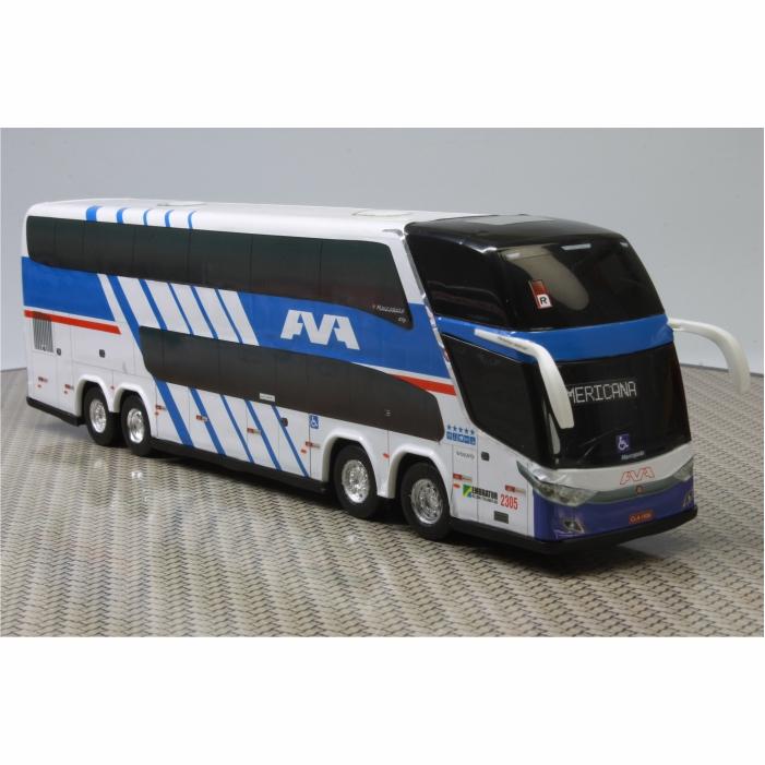 Ônibus Miniatura Ava Auto Viação Americana DD