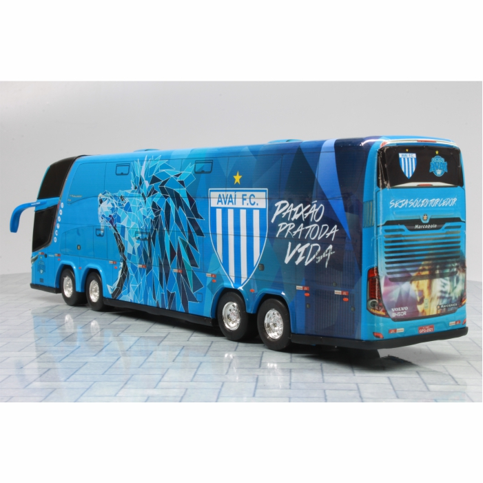 Ônibus Miniatura Avaí Futebol Clube DD