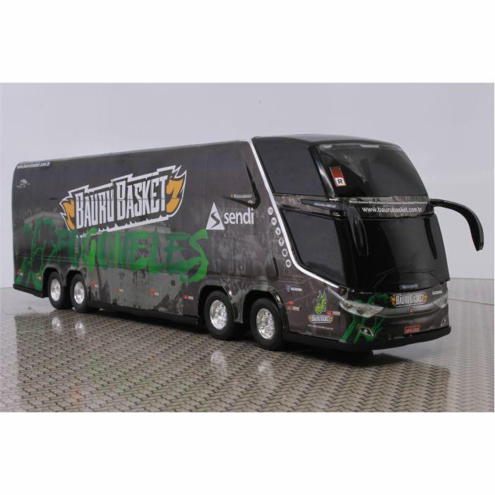 Ônibus Miniatura Bauru Basket DD
