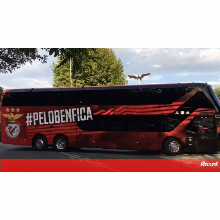 Ônibus Miniatura Benfica Portugal DD