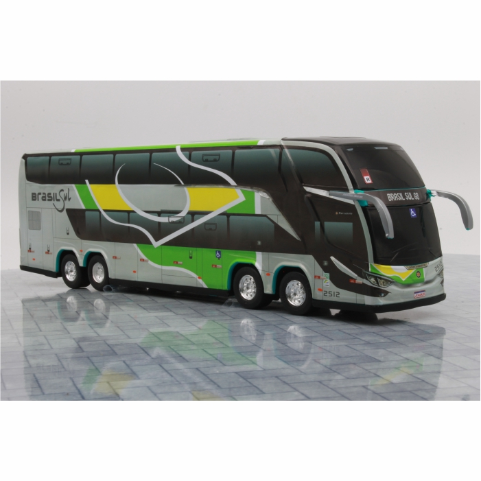 Ônibus Miniatura Brasil Sul DD G8 Lançamento