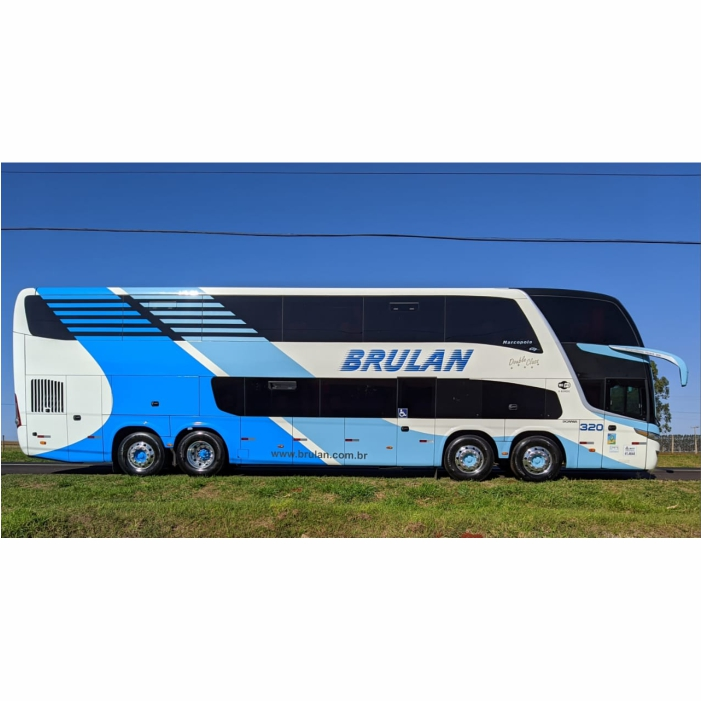 Ônibus Miniatura Brulan DD