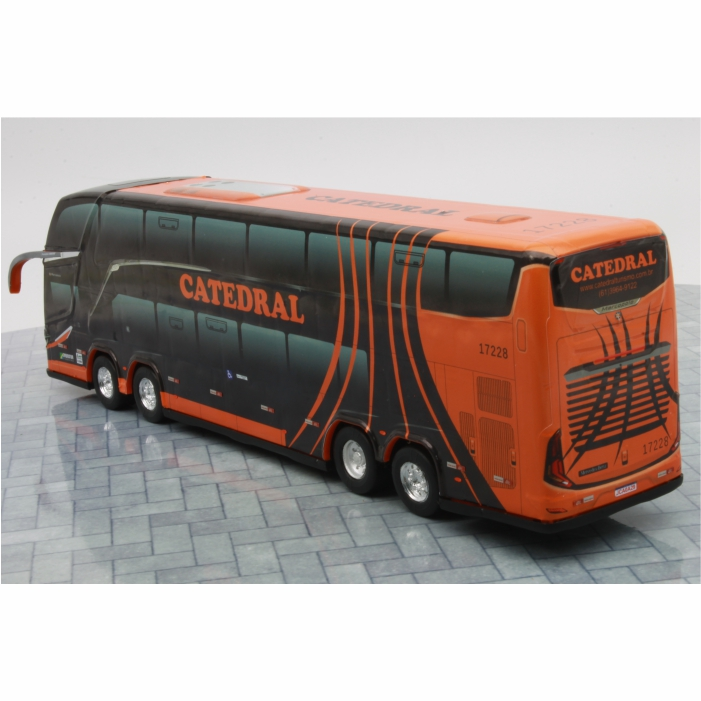 Ônibus Miniatura Catedral Turismo DD G8 Lançamento
