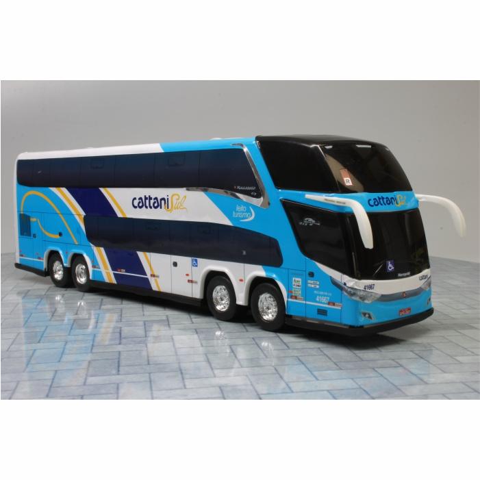 Ônibus Miniatura Cattani Sul New G7 DD