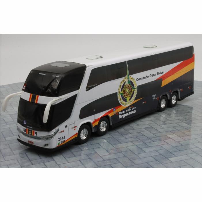 Ônibus Miniatura Comando Geral Móvel Polícia Militar DF