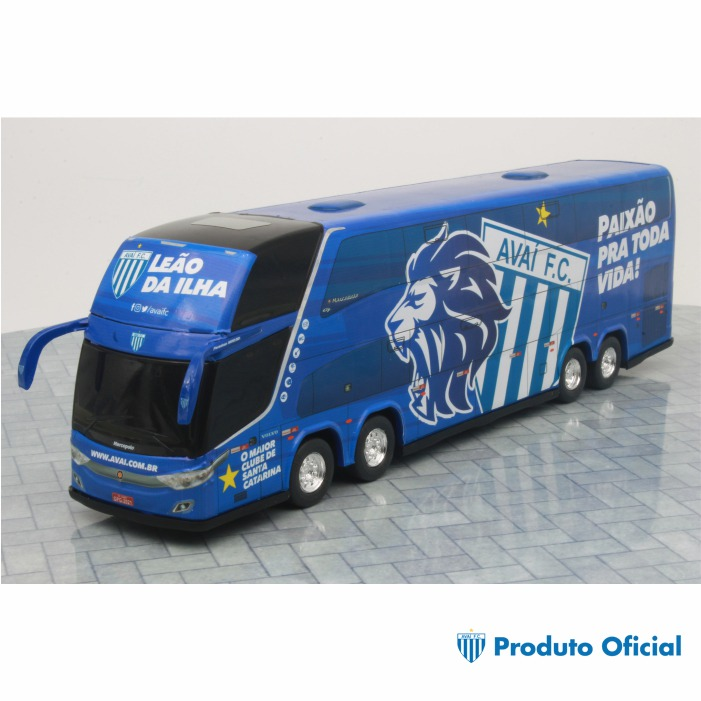 Ônibus Miniatura DD Avaí Futebol Clube Oficial