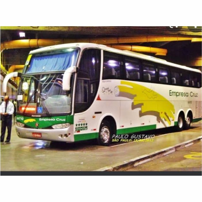 Ônibus Miniatura Empresa Cruz DD