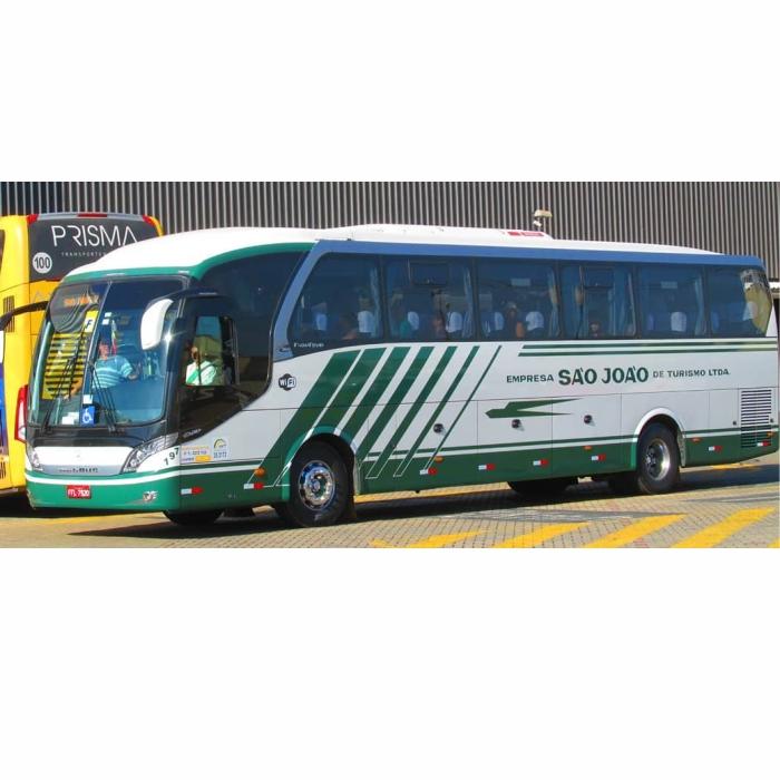 Ônibus Miniatura Empresa São João de Turismo LTDA Neobus