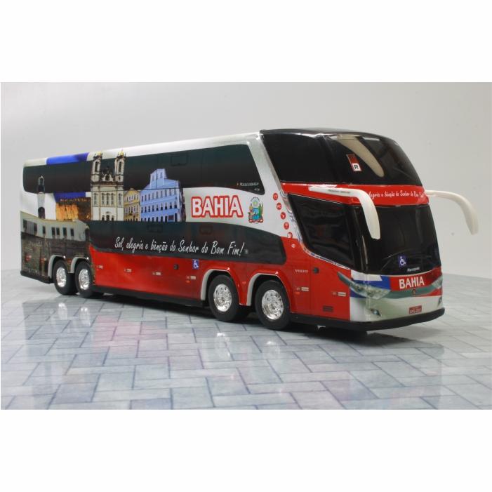 Ônibus Miniatura Estado Bahia Coleção DD