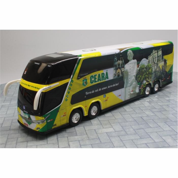 Ônibus Miniatura Estado Ceará Coleção DD
