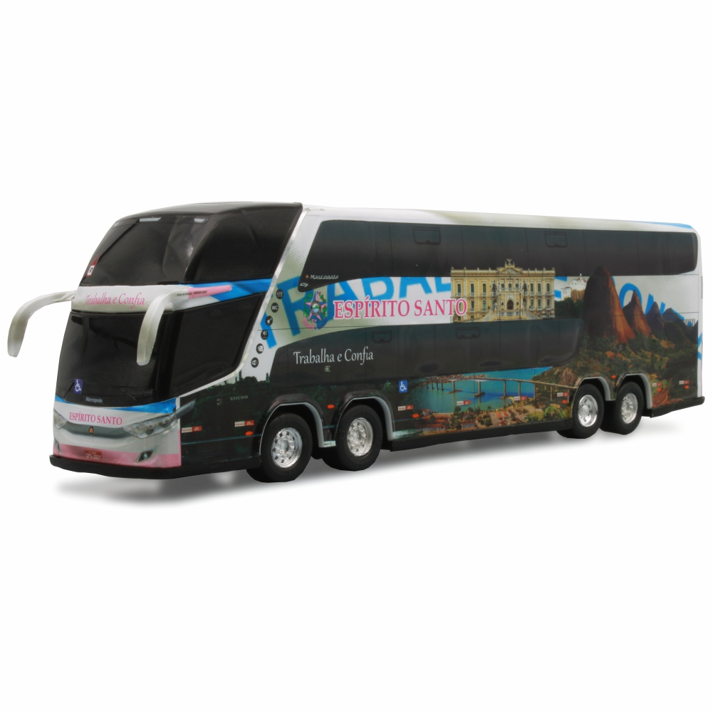 Ônibus Miniatura Estado Espírito Santo Coleção DD
