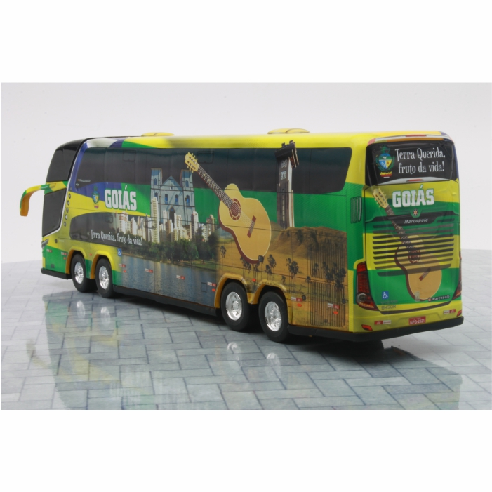 Ônibus Miniatura Estado Goiás Coleção DD