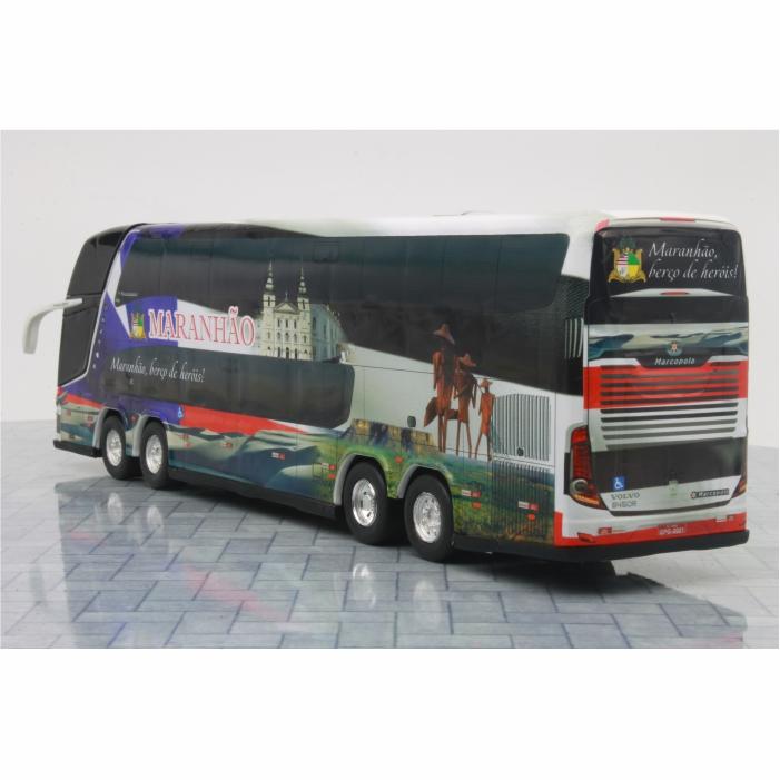 Ônibus Miniatura Estado Maranhão Coleção DD