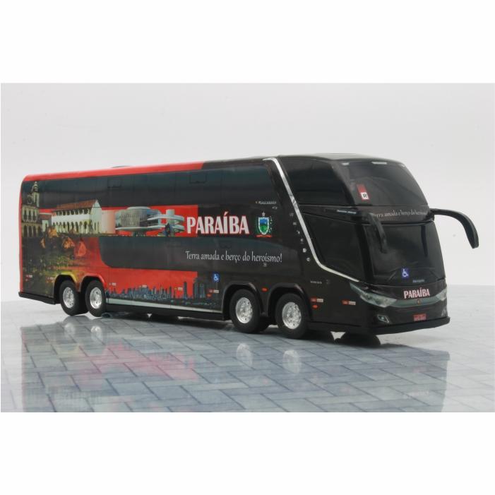 Ônibus Miniatura Estado Paraíba Coleção DD