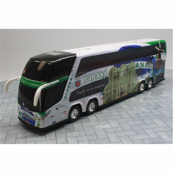 Ônibus Miniatura Estado Paraná Coleção DD