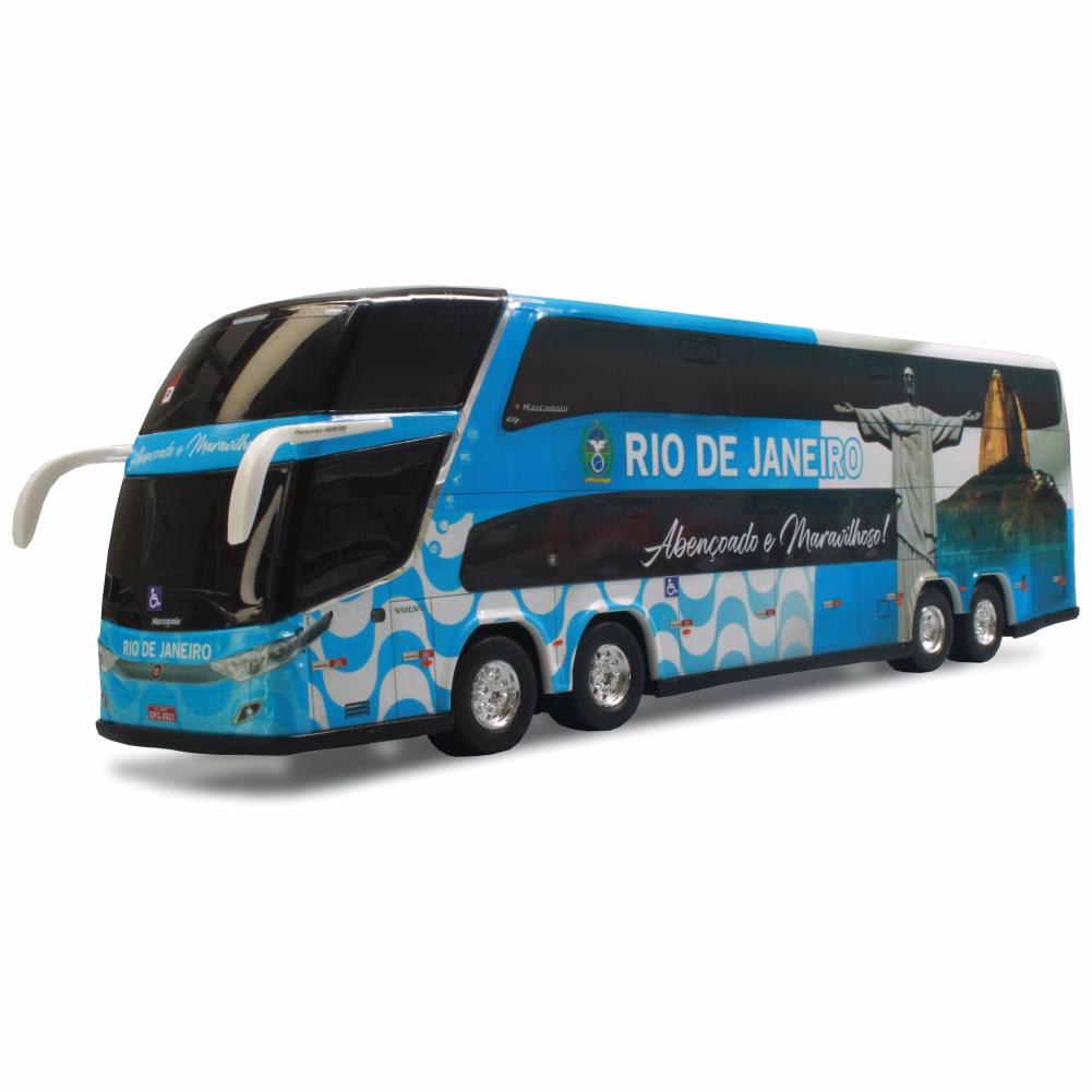 Ônibus Miniatura Estado Rio De Janeiro Coleção DD