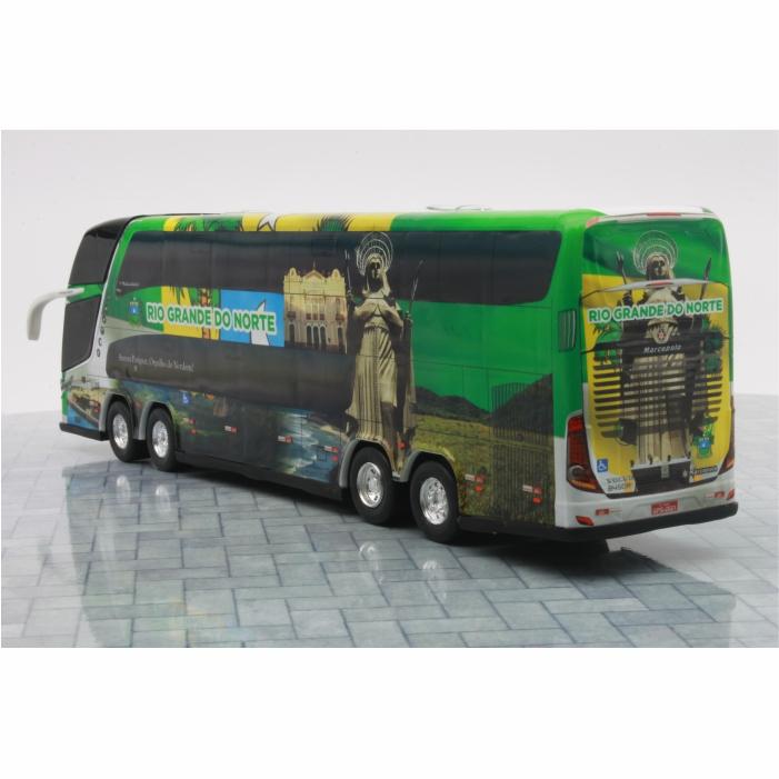 Ônibus Miniatura Estado Rio Grande Do Norte Coleção DD