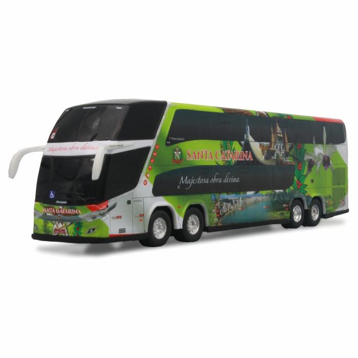 Ônibus Miniatura Estado Santa Catarina Coleção DD